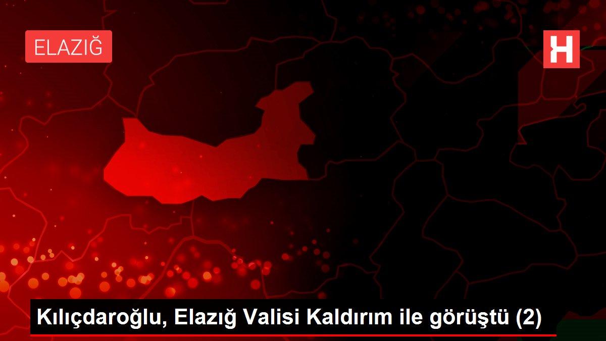 Kılıçdaroğlu, Elazığ Valisi Kaldırım ile görüştü (2)