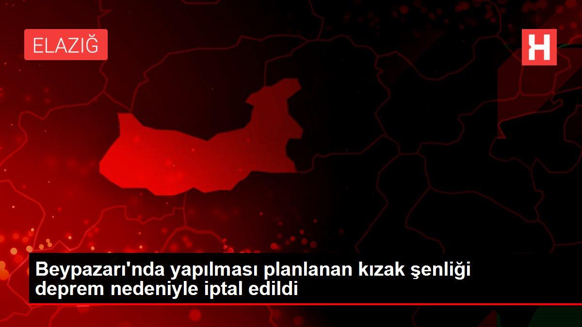 Beypazarı'nda yapılması planlanan kızak şenliği deprem nedeniyle iptal edildi