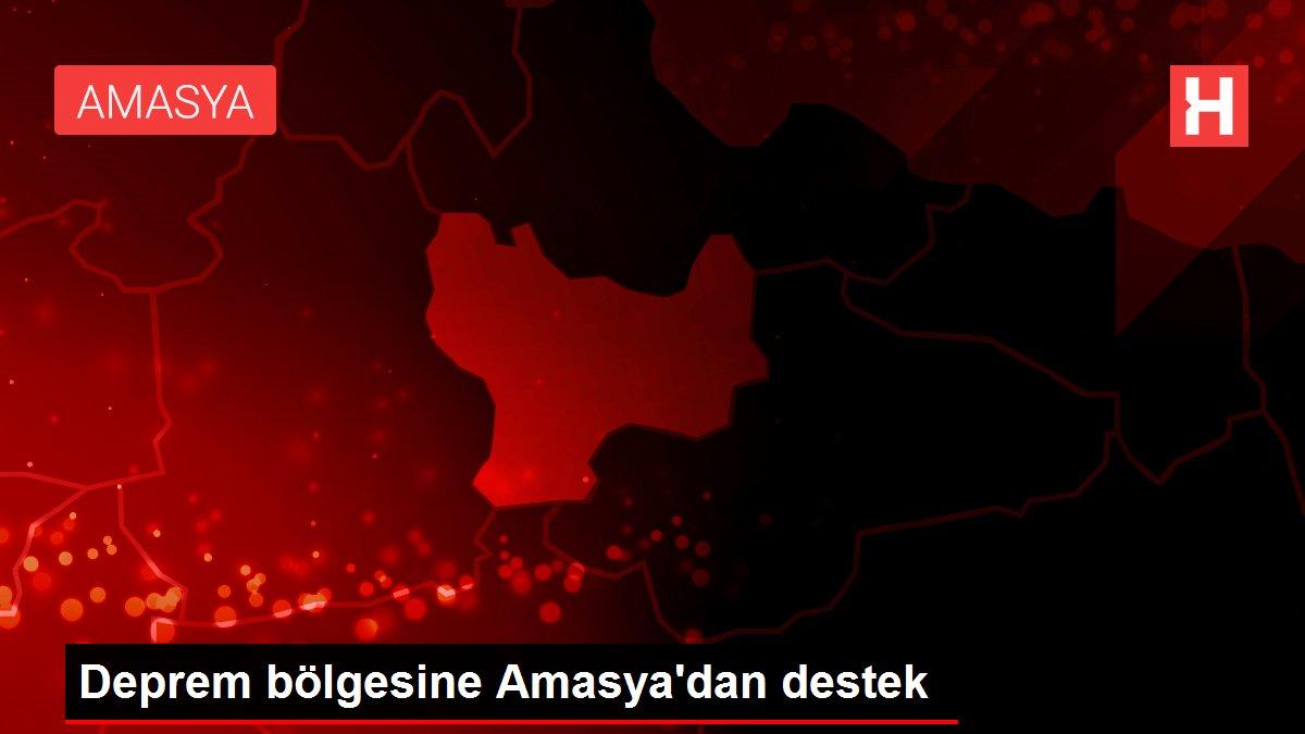 Deprem bölgesine Amasya'dan destek