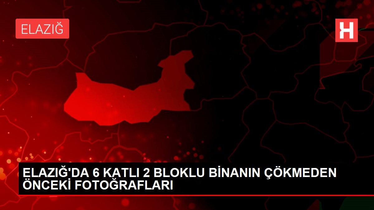 ELAZIĞ'DA 6 KATLI 2 BLOKLU BİNANIN ÇÖKMEDEN ÖNCEKİ FOTOĞRAFLARI