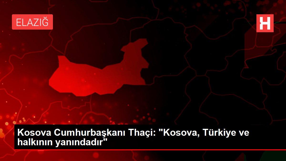 Kosova Cumhurbaşkanı Thaçi: