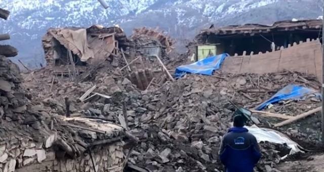 Depremin ardından Çevrimtaş Köyü, hayalet şehre döndü! Tek bir sağlam bina kalmadı