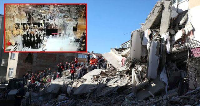 Elazığ'daki 6.8'lik depremin şiddetini gösteren en net görüntüler!