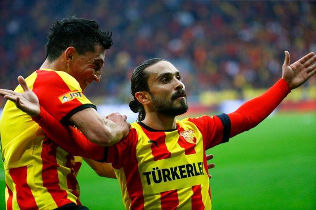 Gürsel Aksel Stadı'ndaki ilk golü Halil Akbunar kaydetti