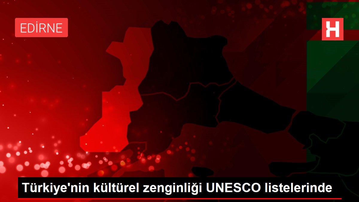 Türkiye'nin kültürel zenginliği UNESCO listelerinde
