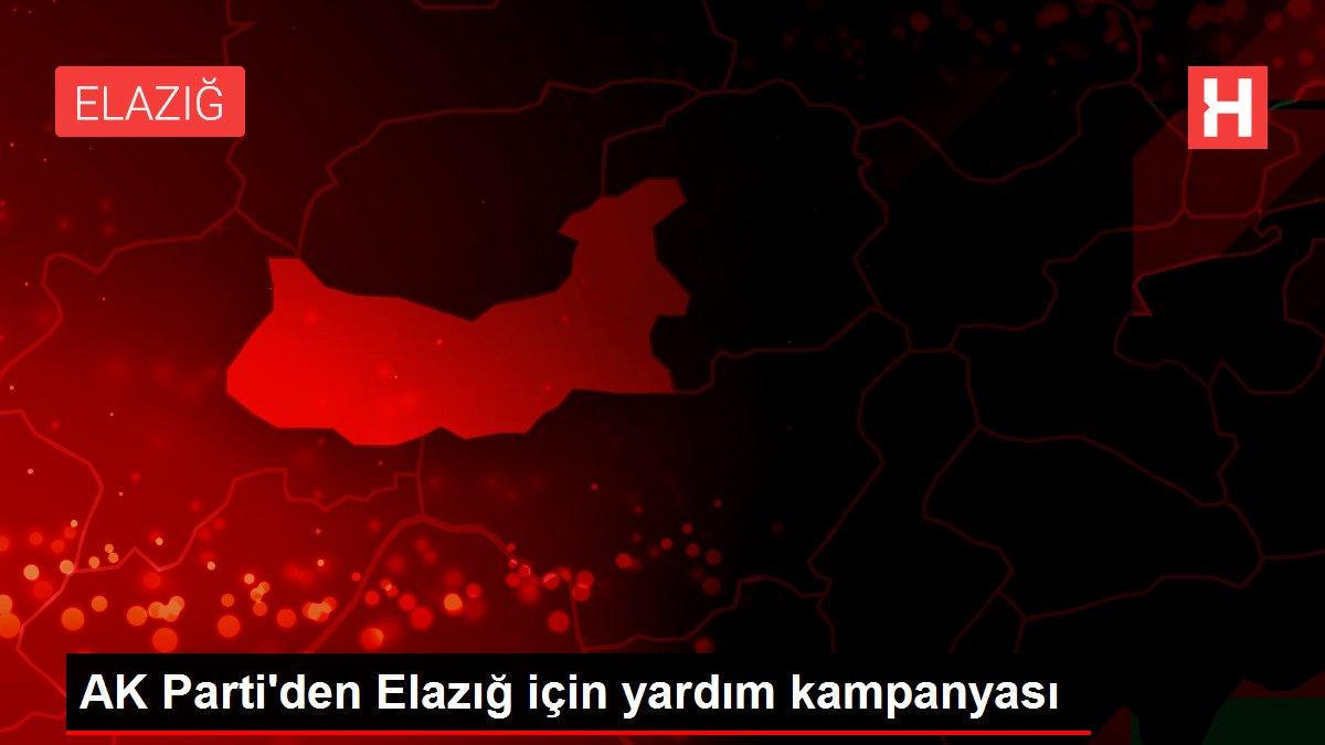 AK Parti'den Elazığ için yardım kampanyası