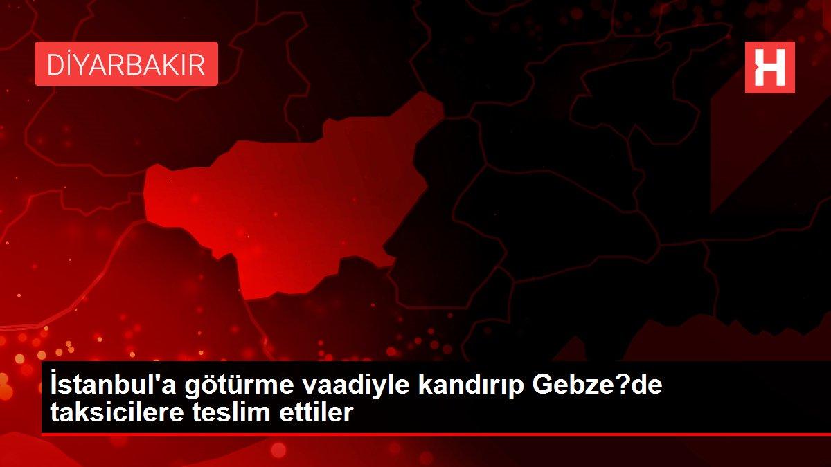İstanbul'a götürme vaadiyle kandırıp Gebze?de taksicilere teslim ettiler