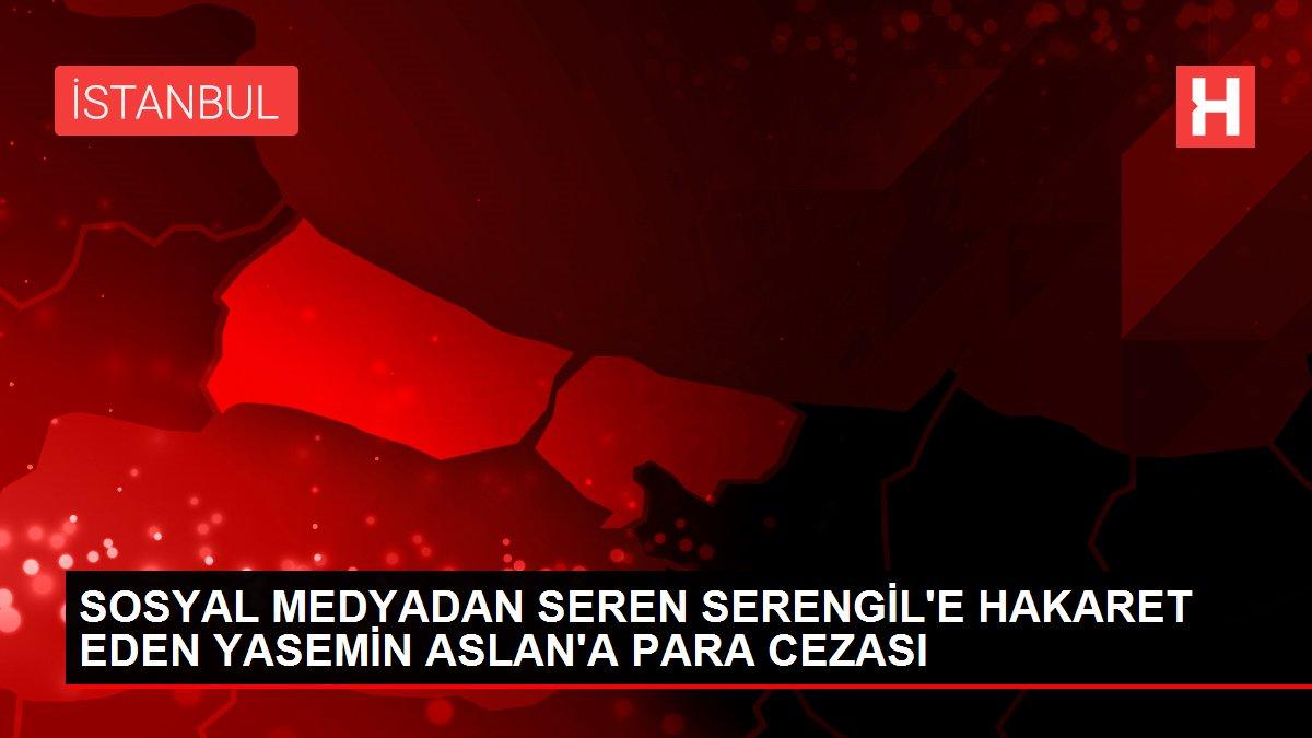 SOSYAL MEDYADAN SEREN SERENGİL'E HAKARET EDEN YASEMİN ASLAN'A PARA CEZASI