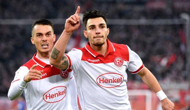 Kaan Ayhan'ın golü, Fortuna Düsseldorf'a galibiyet için yetmedi