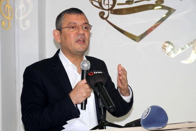 CHP Grup Başkanvekili Özel: