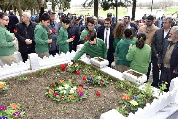 Çanakkale Savaşı kahramanlarından Bigalı Mehmet Çavuş, anıldı