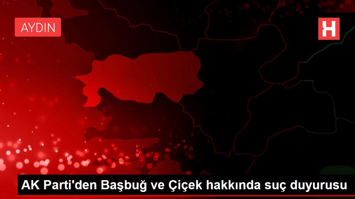AK Parti'den Başbuğ ve Çiçek hakkında suç duyurusu