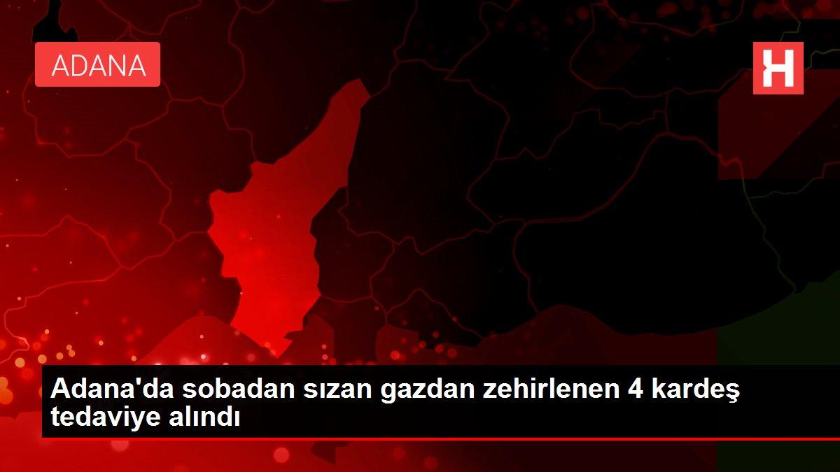 Adana'da sobadan sızan gazdan zehirlenen 4 kardeş tedaviye alındı