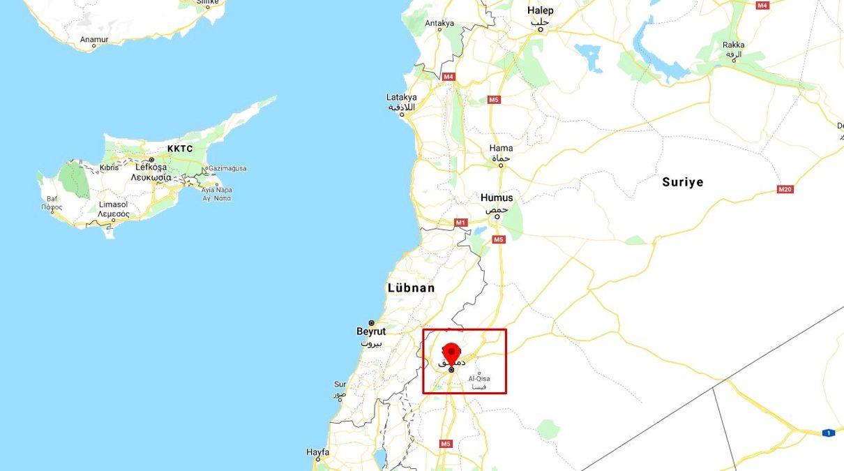 Şam nerede? Şam konumu ve Şam haritası! - Şam
