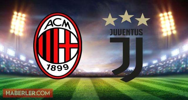 Milan Juventus maçı ne zaman, saat kaçta Milan Juventus maçı hangi kanalda? Milan Juventus maçı şifresiz mi?