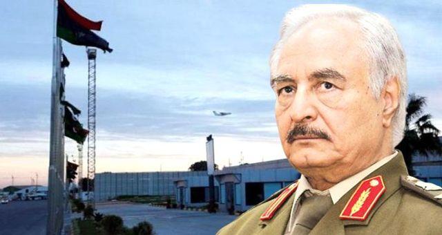 Hafter, Mitiga Havalimanı'nı BM'ye kapattı