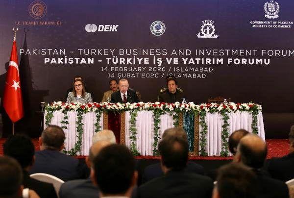 Erdoğan: Türkiye'ye yatırım yapan kimse pişman olmamıştır