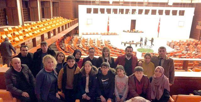 Milletvekillerini duygulandıran ziyaret