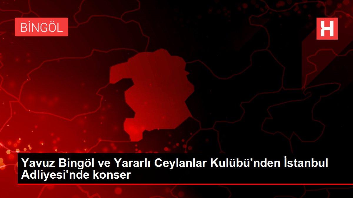 Yavuz Bingöl ve Yararlı Ceylanlar Kulübü'nden İstanbul Adliyesi'nde konser