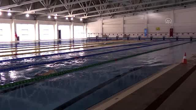 Yüksek irtifa avantajı Slovak yüzücülerin rotasını Erzurum'a çevirdi