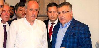 Mehmet Kesimoğlu: Muharrem İnce, Kırklareli Belediye Başkanı Kesimoğlu'nun kendisine kafa attığı söylentilerini gönderdiği fotoğrafla yalanladı