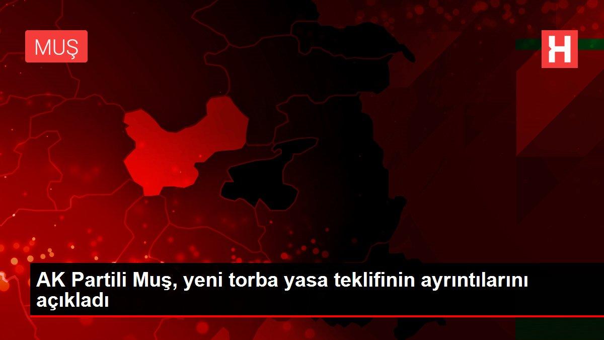 AK Partili Muş, yeni torba yasa teklifinin ayrıntılarını açıkladı