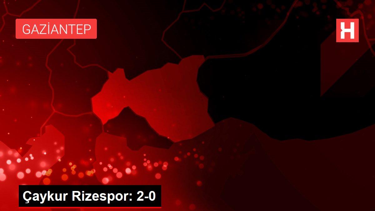 Çaykur Rizespor: 2-0