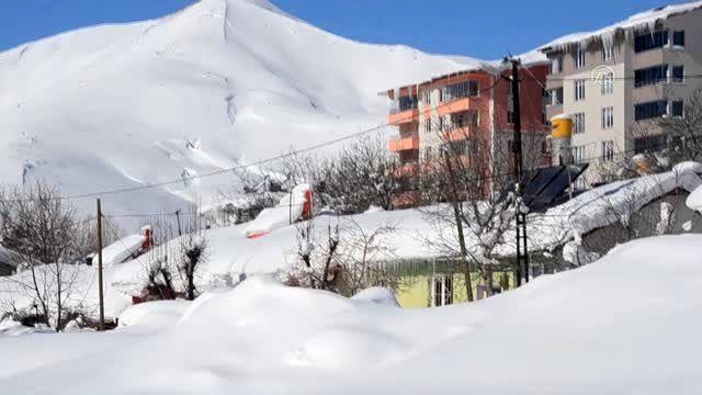 Doğu Anadolu'da 4 ilde 542 yerleşim birimine ulaşım sağlanamıyor