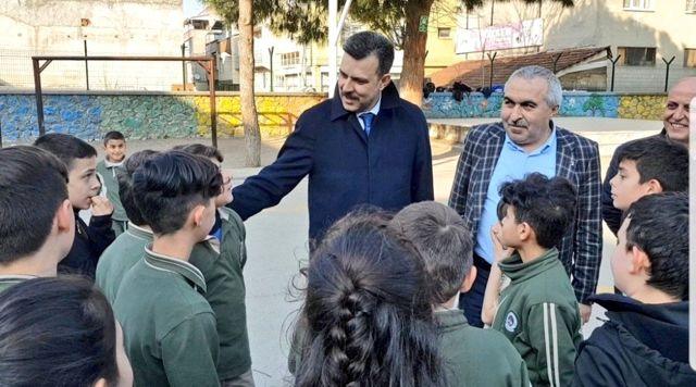 Mustafa Esgin: 'Çocuklarımızın eğitimi ve güvenliği önceliğimiz'