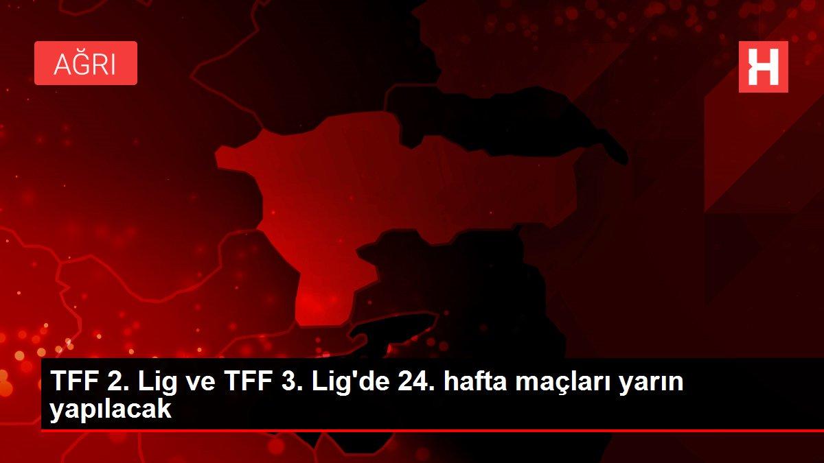 TFF 2. Lig ve TFF 3. Lig'de 24. hafta maçları yarın yapılacak