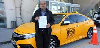 Kaçak göçmen taşıyan taksiciye 7 bin TL ceza