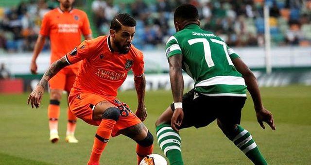 Medipol Başakşehir, deplasmanda Sporting Lizbon'a 3-1 kaybetti