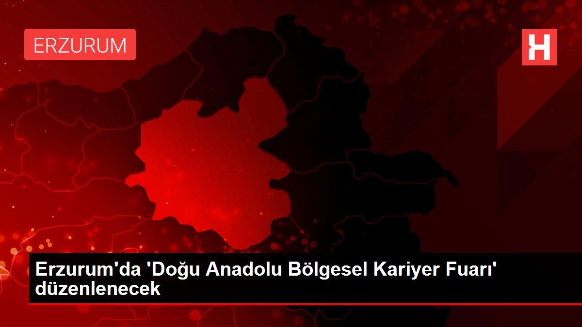 Erzurum'da 'Doğu Anadolu Bölgesel Kariyer Fuarı' düzenlenecek