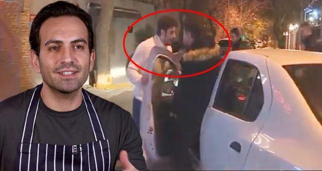 Oyuncu Buğra Gülsoy'un doğum gününde gerginlik! Görüntü almak isteyen muhabire saldırdılar