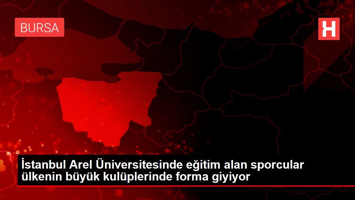 İstanbul Arel Üniversitesinde eğitim alan sporcular ülkenin büyük kulüplerinde forma giyiyor