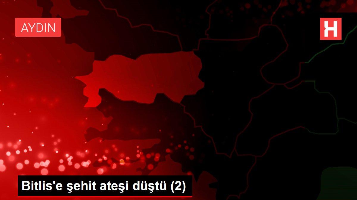 Bitlis'e şehit ateşi düştü (2)