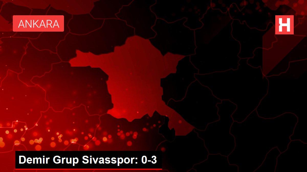 Demir Grup Sivasspor: 0-3