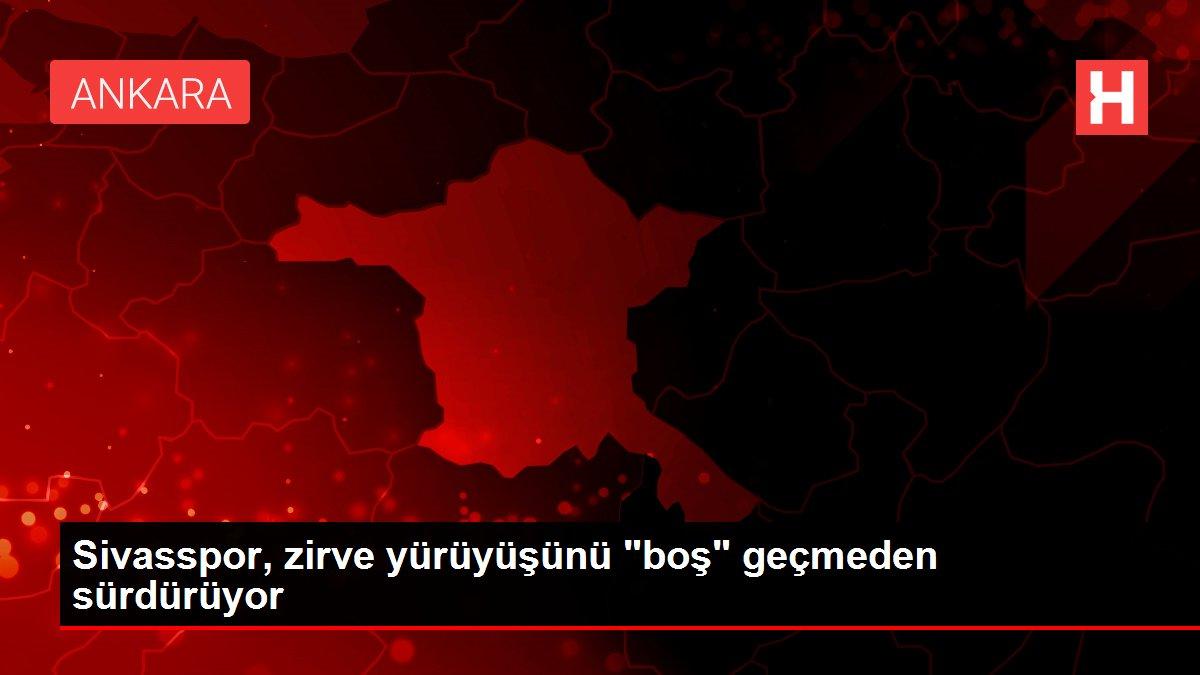 Sivasspor, zirve yürüyüşünü