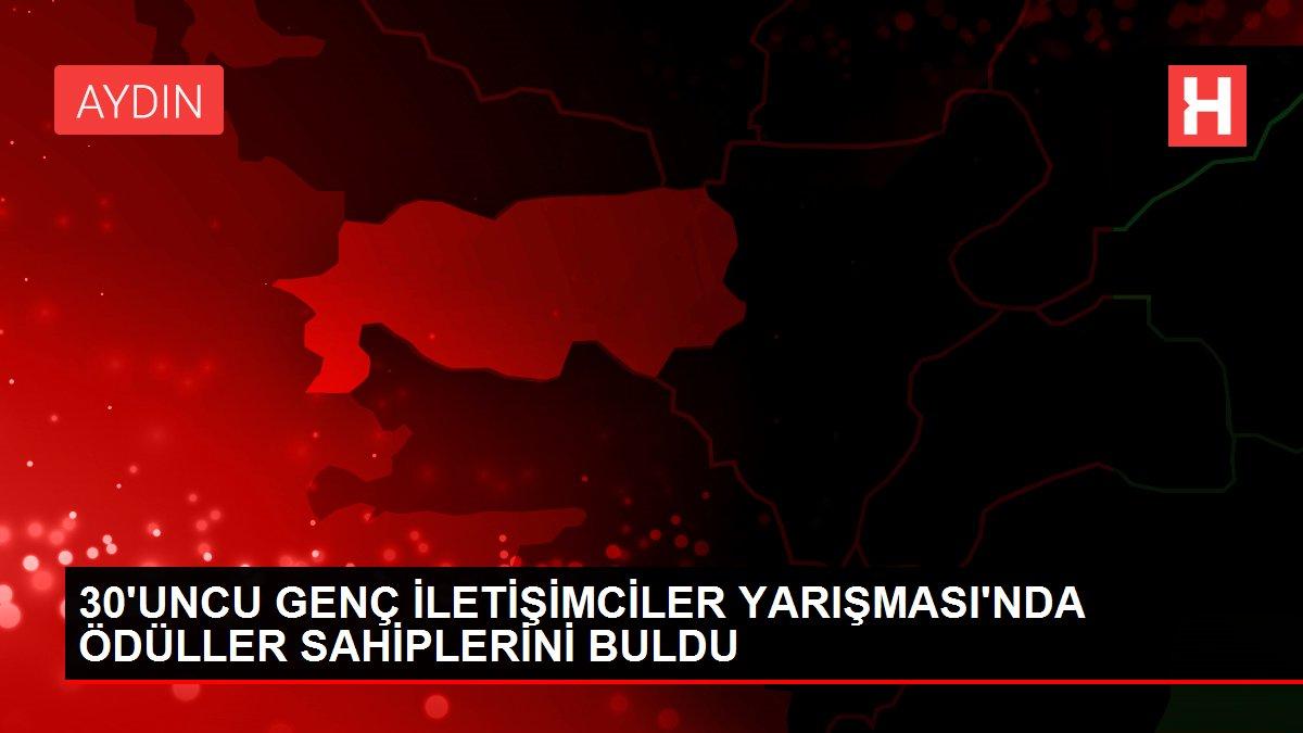 30'UNCU GENÇ İLETİŞİMCİLER YARIŞMASI'NDA ÖDÜLLER SAHİPLERİNİ BULDU