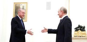 Moskova'daki Erdoğan-Putin görüşmesi dünya basınında geniş yer buldu