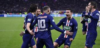 PSG, Olympique Lyon'u 5-1 yenerek Fransa Kupası'nda finale çıktı
