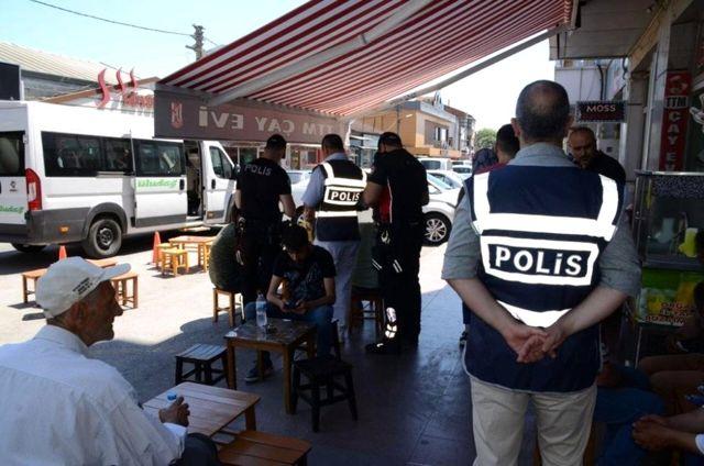 Balıkesir'de polis aranan 37 kişiyi yakaladı
