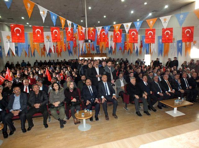AK Parti Malazgirt İlçe Başkanlığı 7. Olağan Kongresi yapıldı