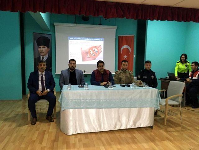 Hekimhan'da taşımalı eğitim değerlendirme toplantısı yapıldı