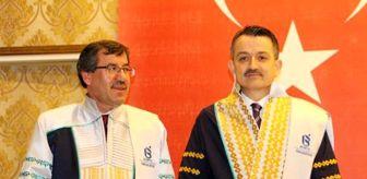 Şükrü Başdeğirmen: Bakan Pakdemirli'ye Isparta'da fahri doktora