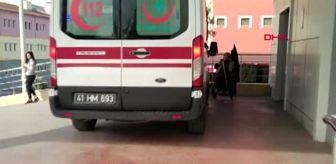 KOCAELİ İndiği otomobilin altında kalan Tuğçe, yaralandı