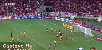 CR Flamengo, Barcelona SC'yi Üç Golle Geçiyor