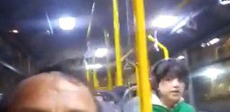 Seyrantepe Mahallesi: Engelli bir çocuk halk otobüsünde unutuldu