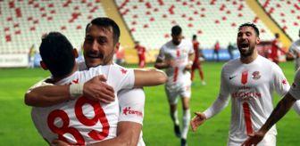 Hakan Arslan: Süper Lig: Antalyaspor: 1- Sivasspor: 0 (Maç sonucu)