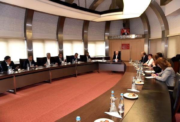 Kılıçdaroğlu, Türk Tabipleri Birliği heyetini kabul etti